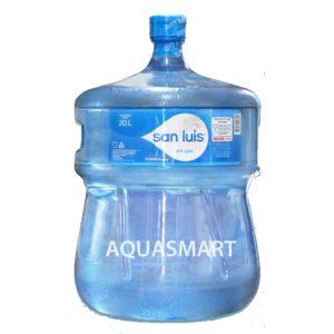 Bidon de agua mineral San Luis 20 Lt. Retornable