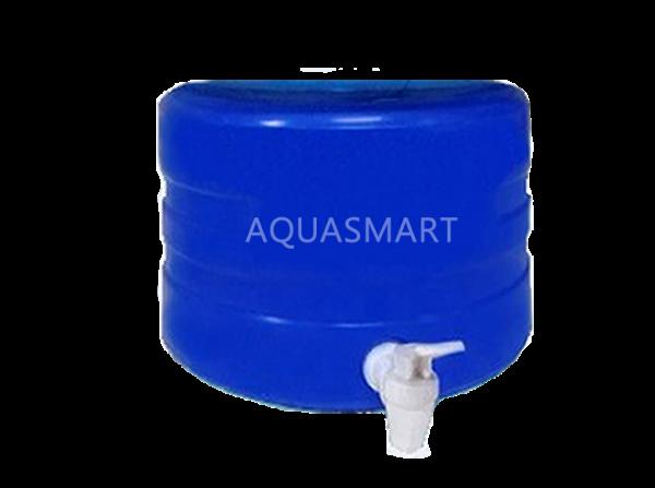 dispensador universal azul chico para bidones 20 litros