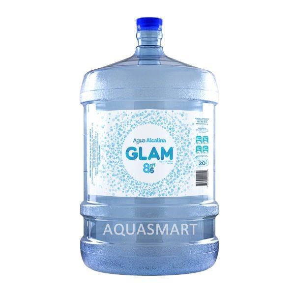 Bidón de agua alcalina Glam 20 Lt. Retornable